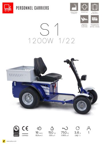 S1 Electric personnel carrier