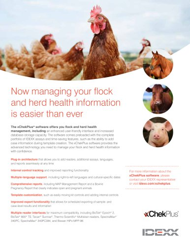 Now managing your flock and herd health information is easier than ever