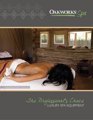luxury spa equipment