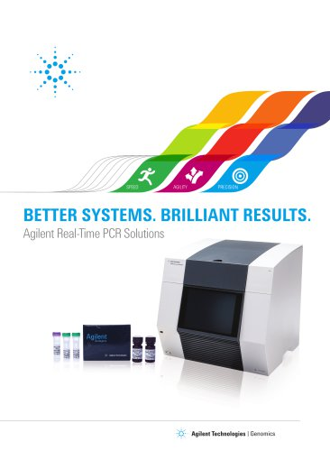 Agilent Real-Time PCR Solutions, AriaMx Brochure