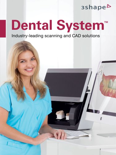 3Shape Dental System 2014
