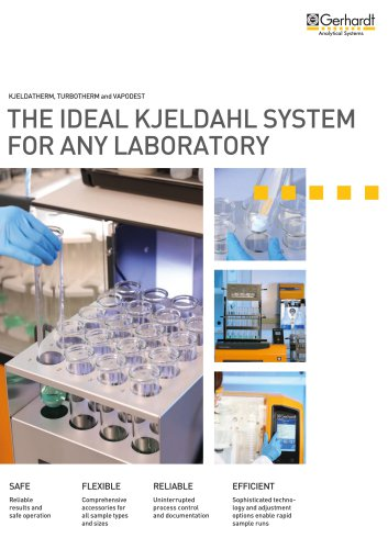 The ideal Kjeldahl system for any need