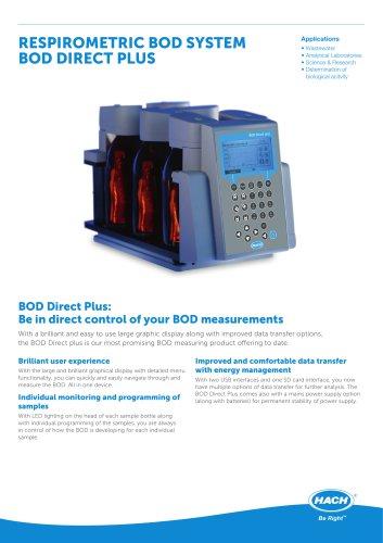 Respirometric BOD System BOD Direct Plus