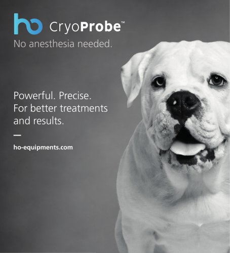 CryoProbe - Veterinary Brochure