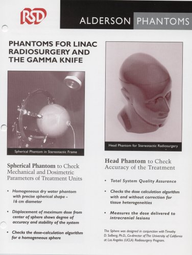 PHANTOMS FOR LINAC RADIOSURGERY ANDTHE GAMMA KNIFE